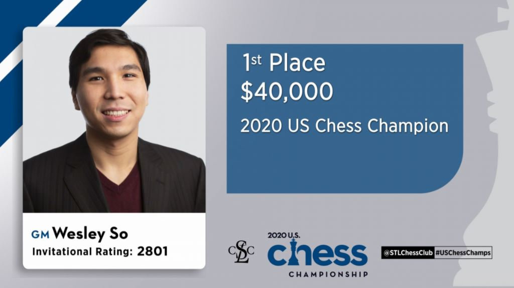 Wesley So Chess Championship