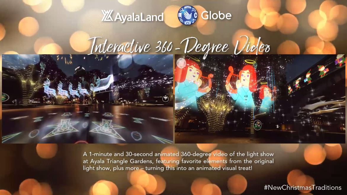 Ayala's 1st Interactive Digital Lights & Sound Show