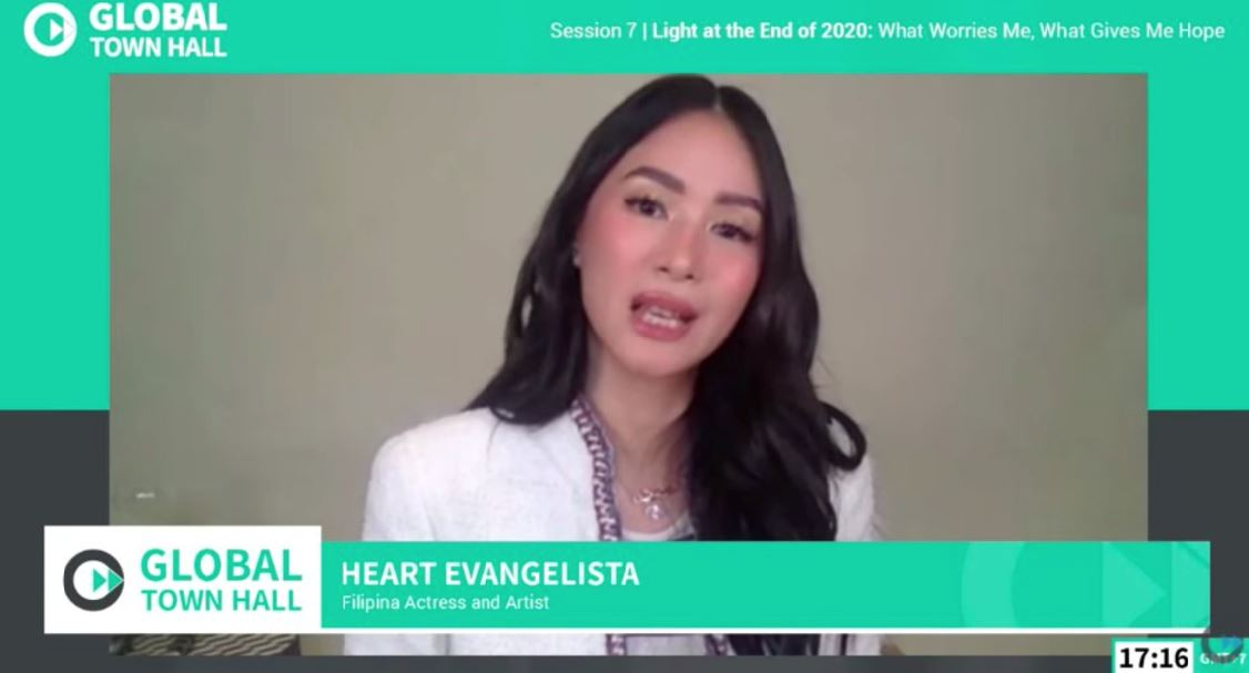 Heart Evangelista helps end stigma