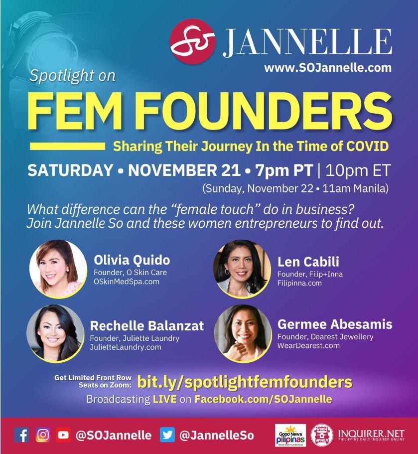 Jannelle So Female leadership webinar