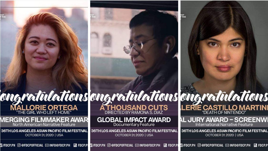 Filipino filmmakers Los Angeles Asian Pacific Film Festival