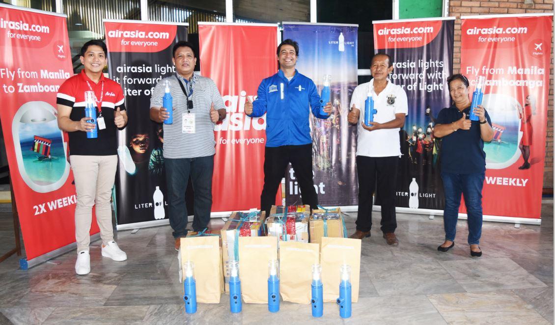AirAsia and Liter of Light bring the hope of light to Zamboanga