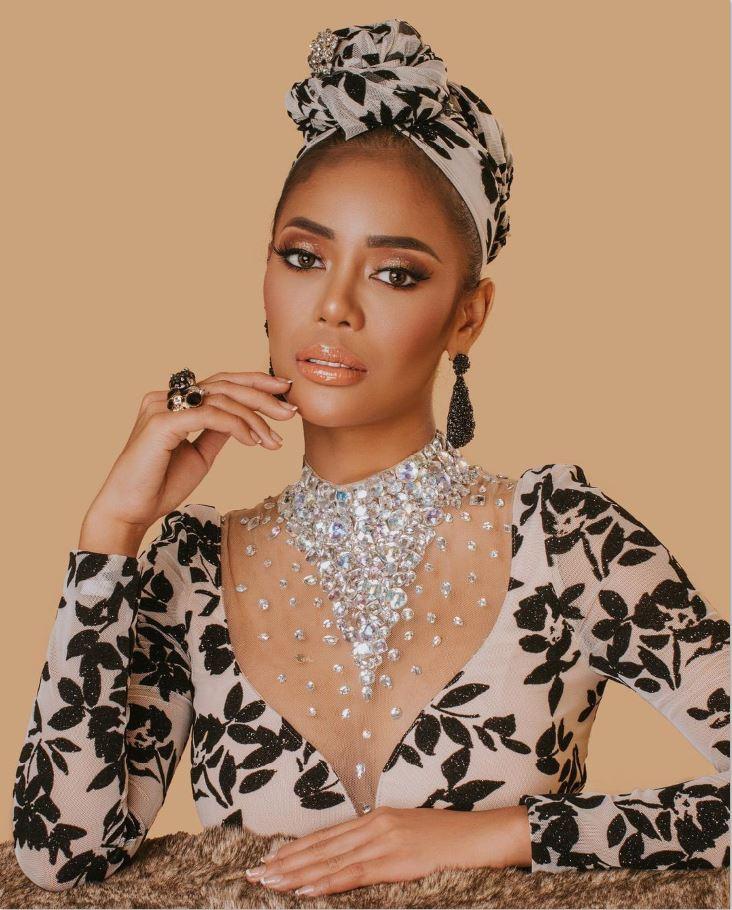 Rowena Sasuluya Miss Globe