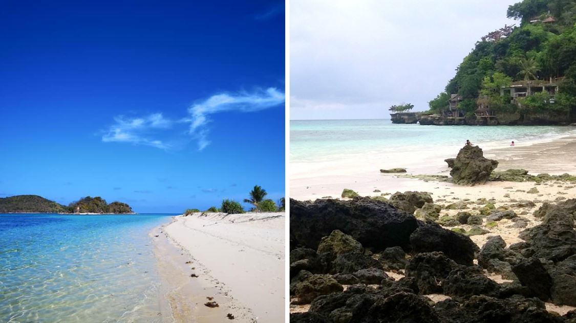 Philippines prime destinations Palawan and Boracay