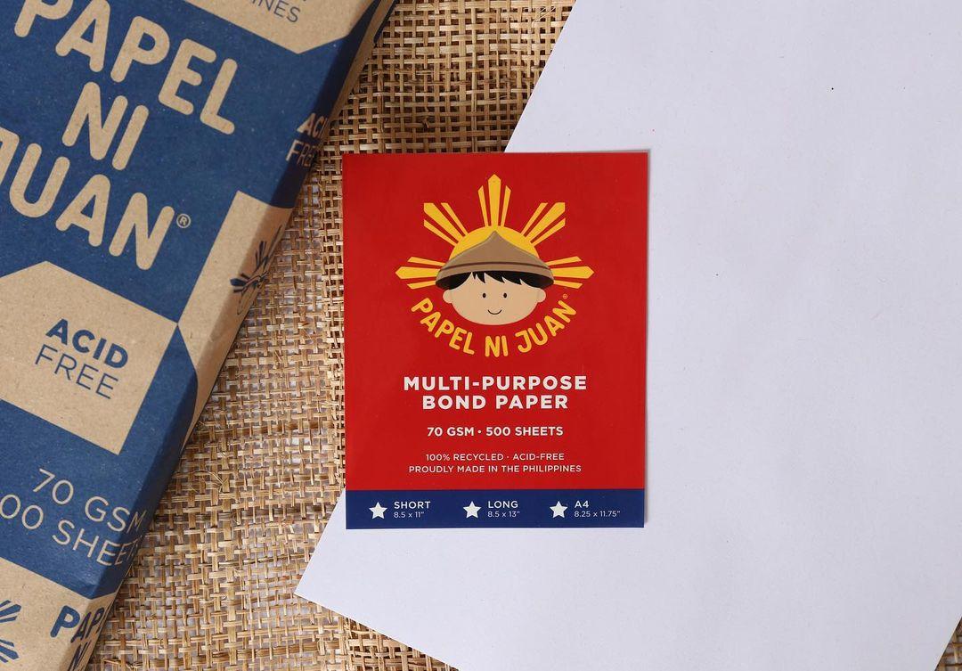 Papel ni Juan donates eco-friendly paper
