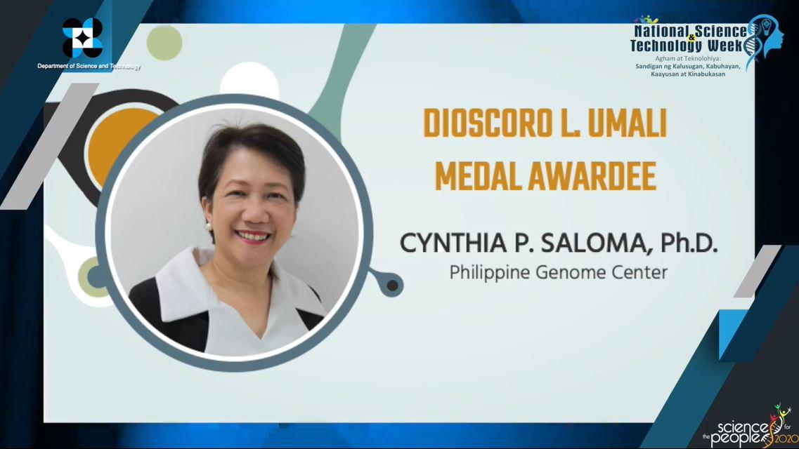DR. CYNTHIA P. SALOMA