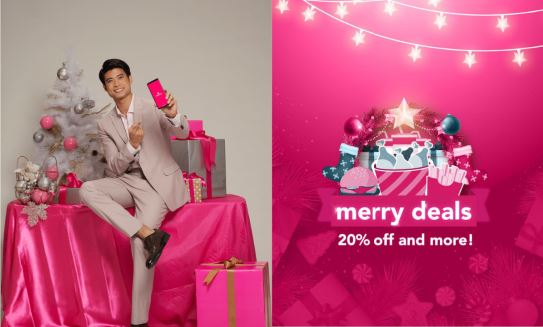Foodpanda Christmas promo deals