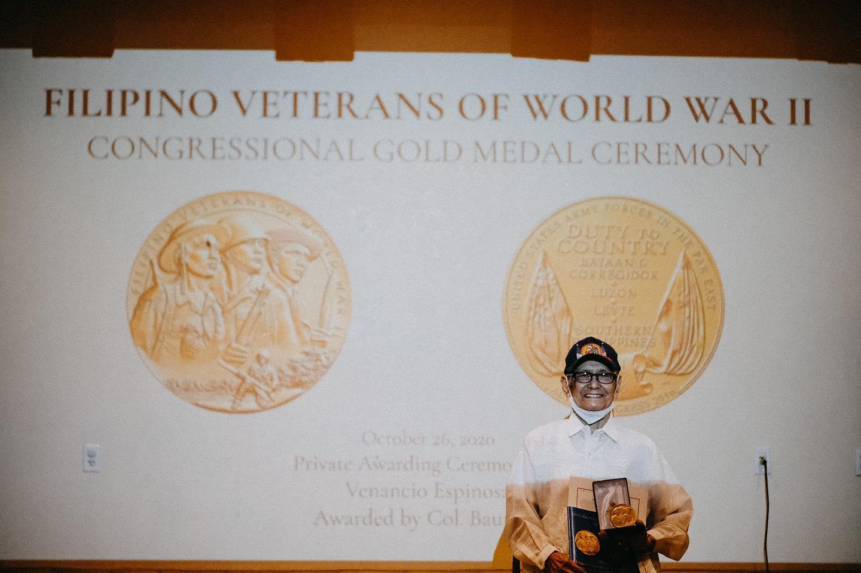Venancio Espinosa Gold Medal