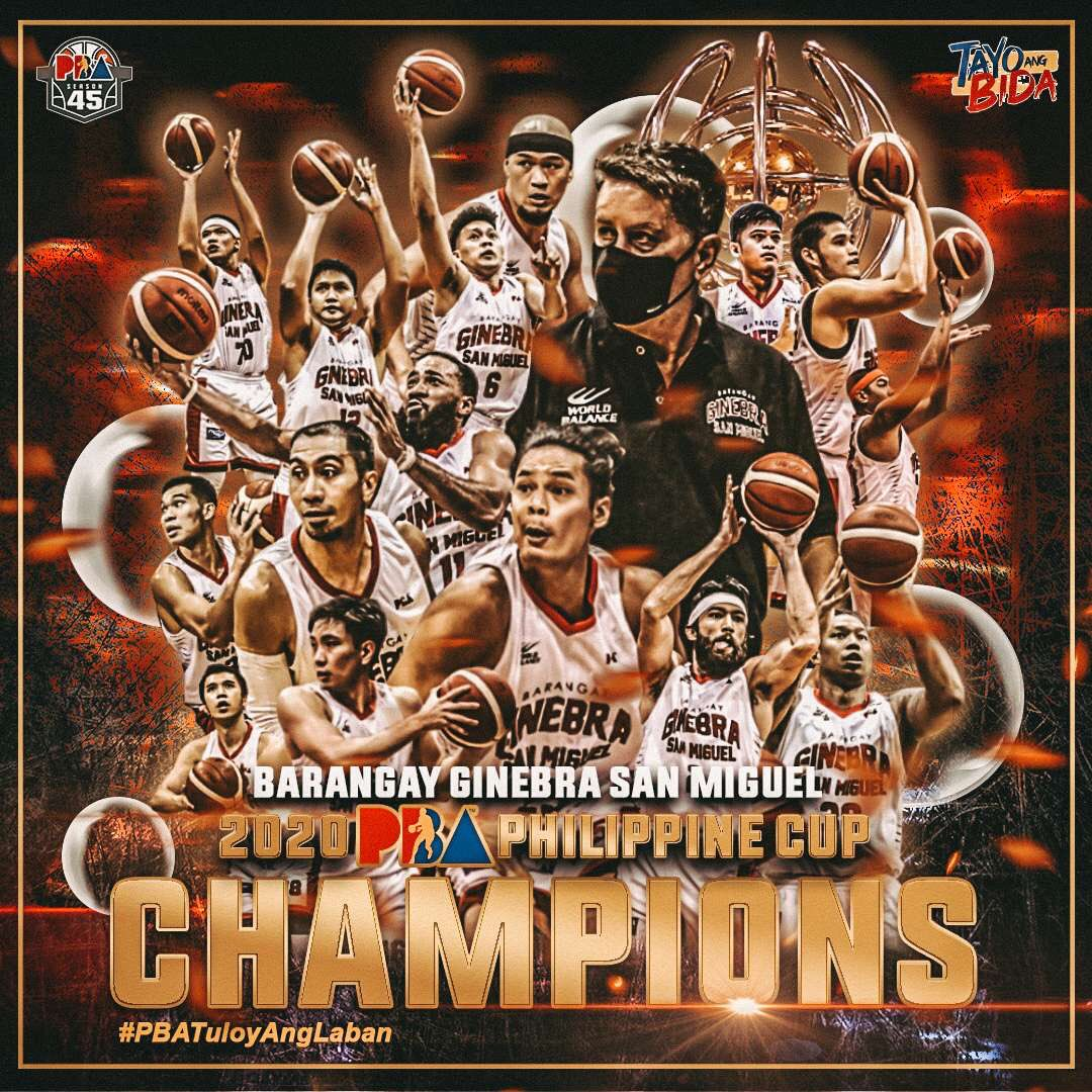 Barangay Ginebra Philippine Cup Championship