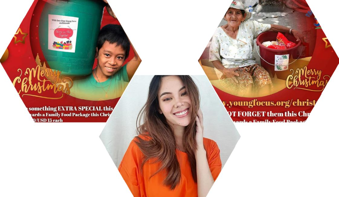 Catriona Gray Christmas food package