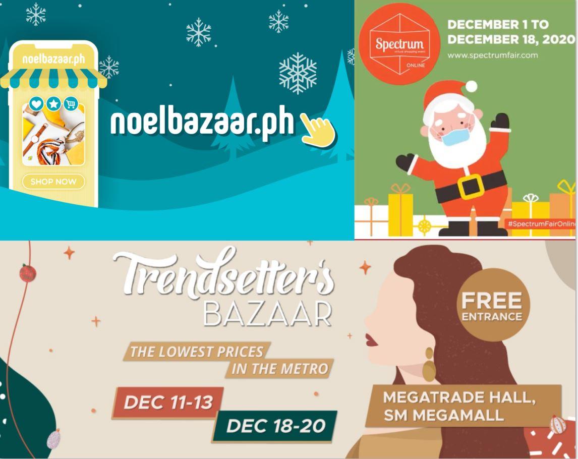 Online Christmas Bazaars