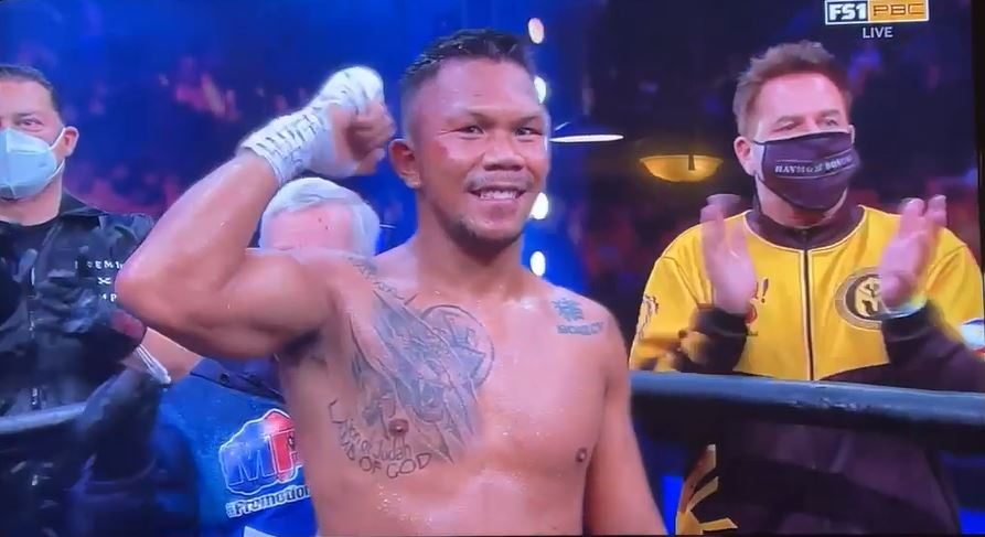 Eumir Marcial 1st pro bout