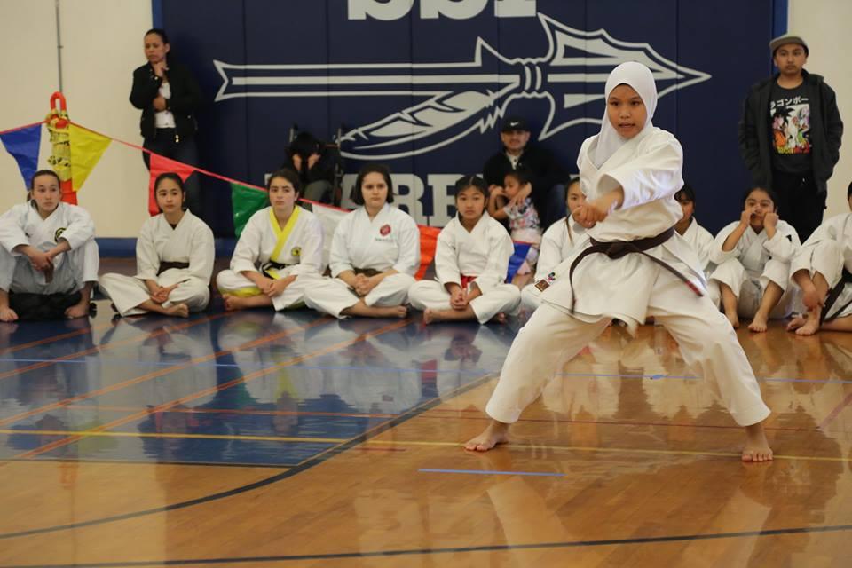 Fatima A-Isha Hamsain Filipino karateka