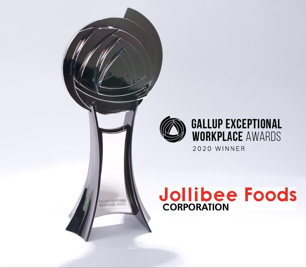 Jollibee Gallup Award