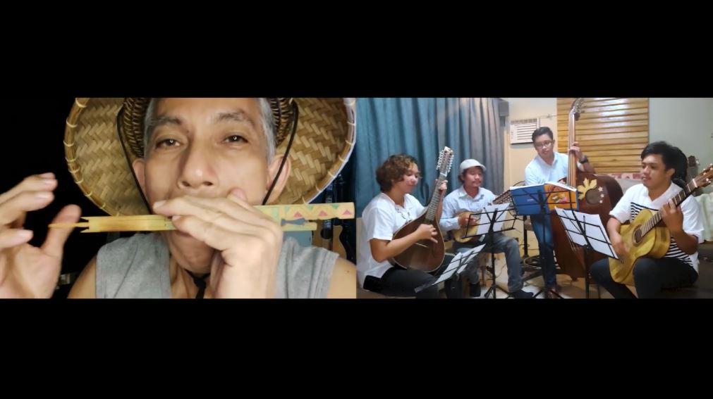 Bamboo musical instruments DOST