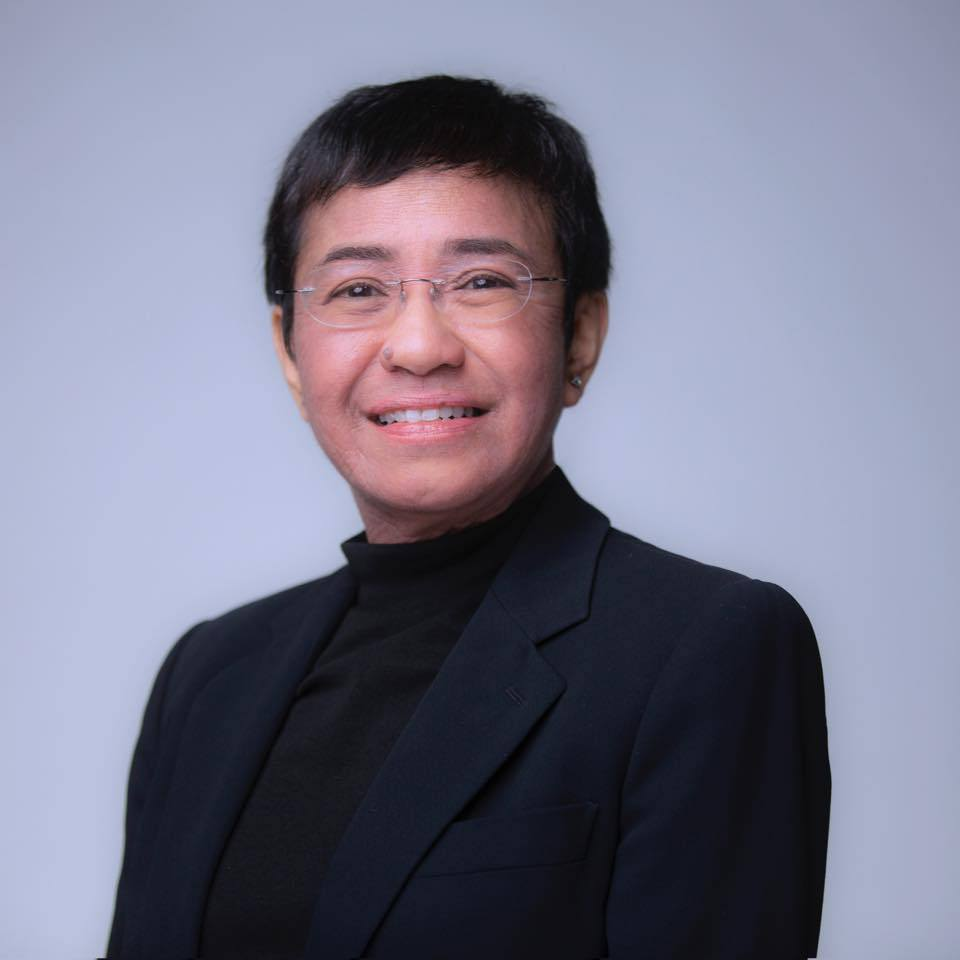 Maria Ressa Bloomberg Most Influential Icons