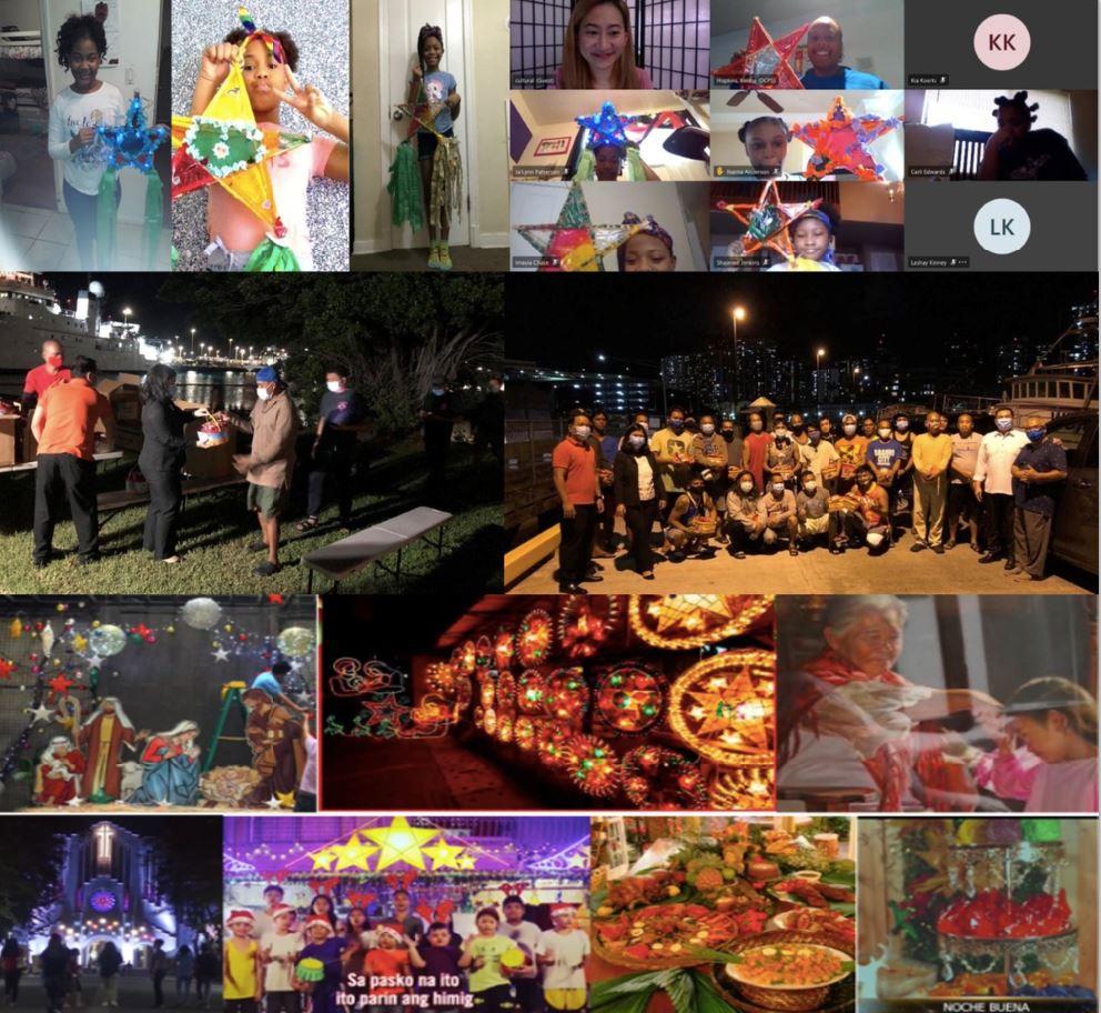 Overseas Filipinos Celebrate Christmas