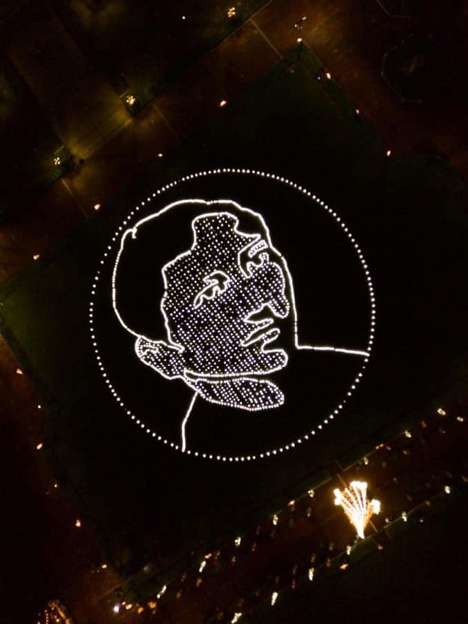 Jose Rizal solar portrait