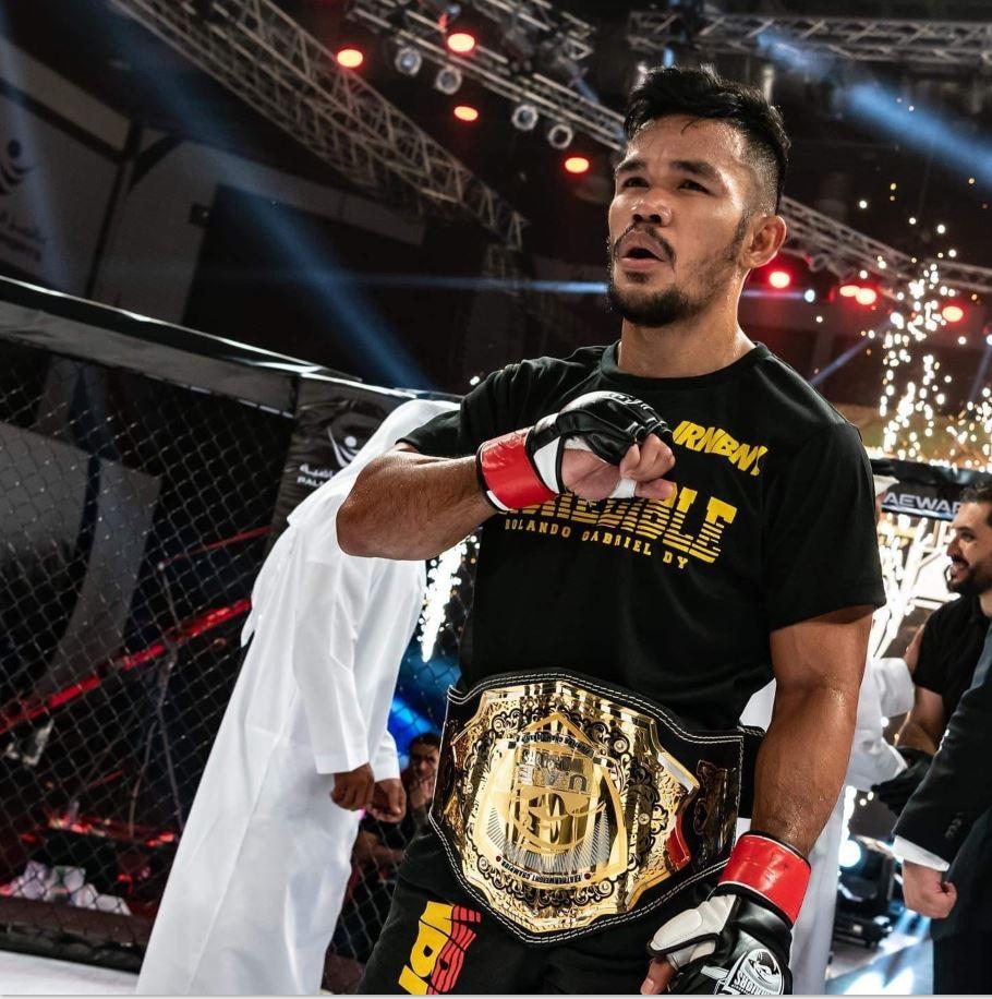 Rolando Dy MMA Fighter