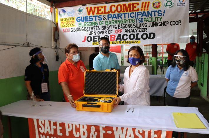 Caloocan e-waste management