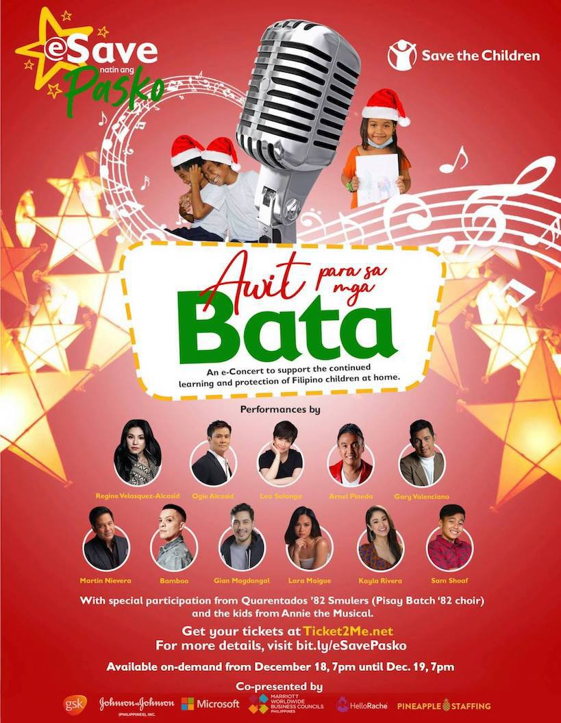 OPM Christmas Fundraising Concert