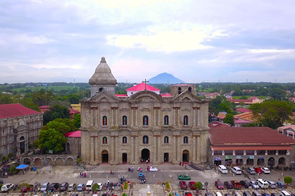 Taal Basilica Batangas restored