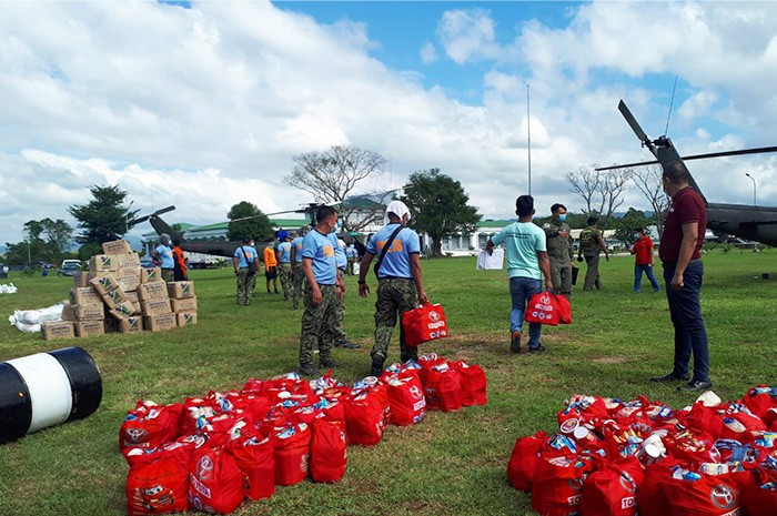Toyota Philippines typhoon relief operations