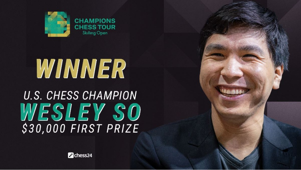 Wesley So won the Skilling Open