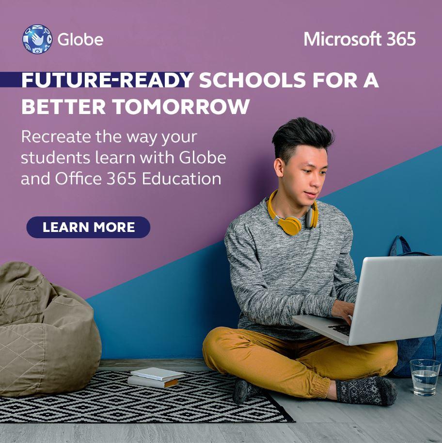 Globe partners Microsoft Office