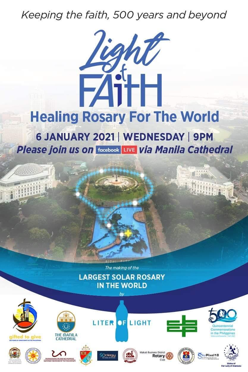 Largest Solar Rosary