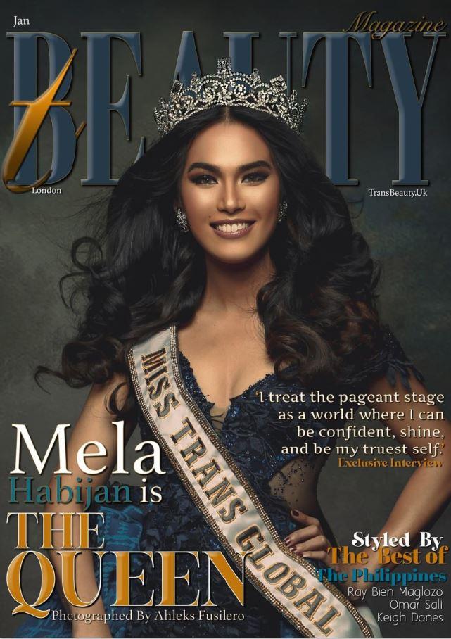 Mela Habijan TransBeauty Magazine
