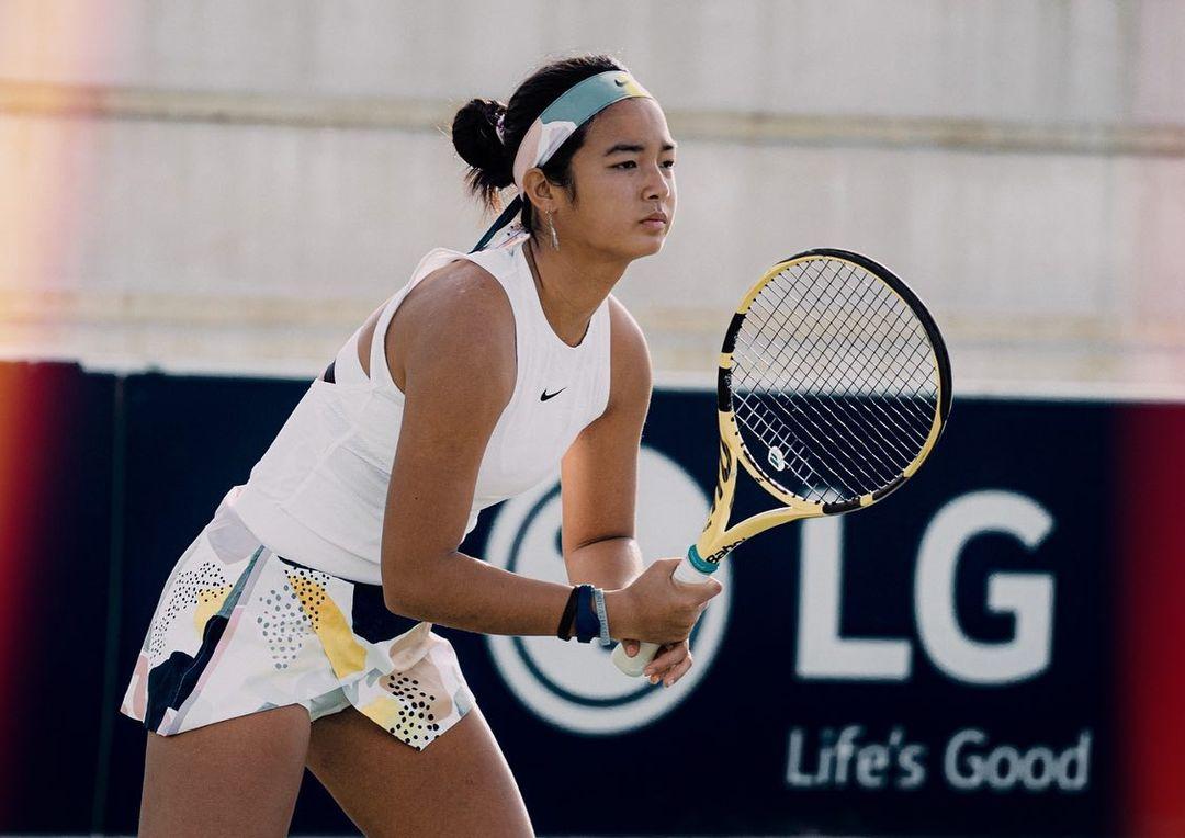 Filipino tennis prodigy Alex Eala