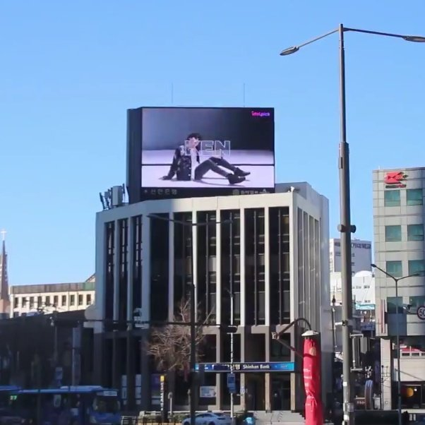 Ken South Korea billboard