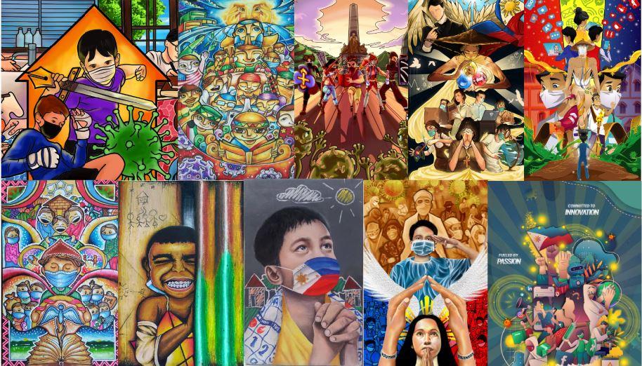 Jose Rizal pandemic youth art
