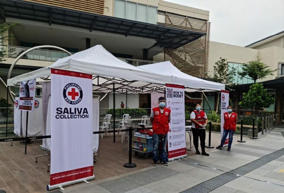 COVID saliva test Ayala Malls