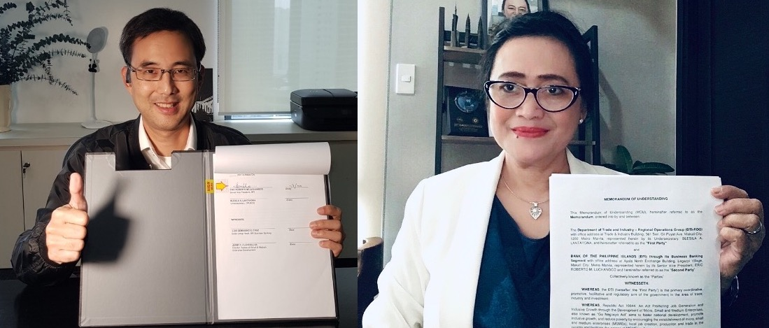 Philippine SMEs expanded support BPI DTI partnership