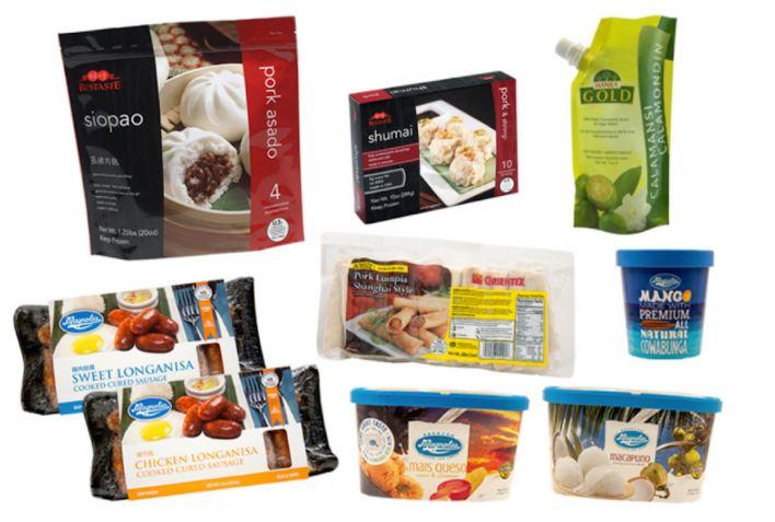 Filipino food bundle boxes