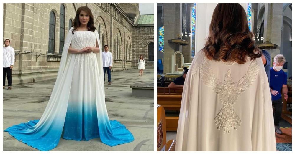 Jamie Rivera Mak Tukmang gown