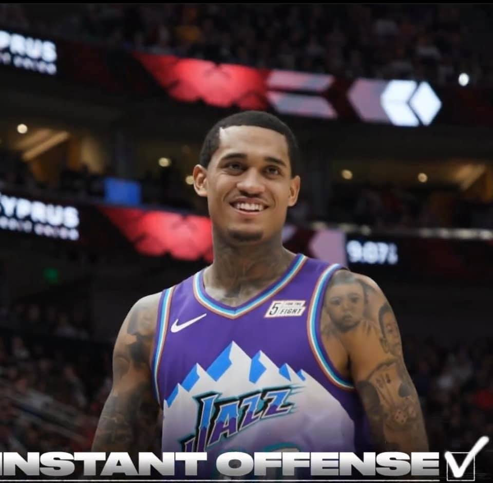 Jordan Clarkson NBA star