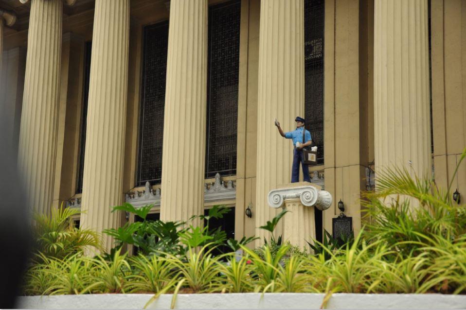Manila Central Post Office urban gardening