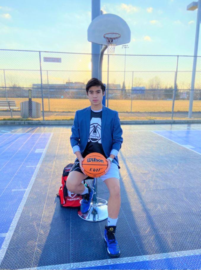 Ryan Ang's basketball training