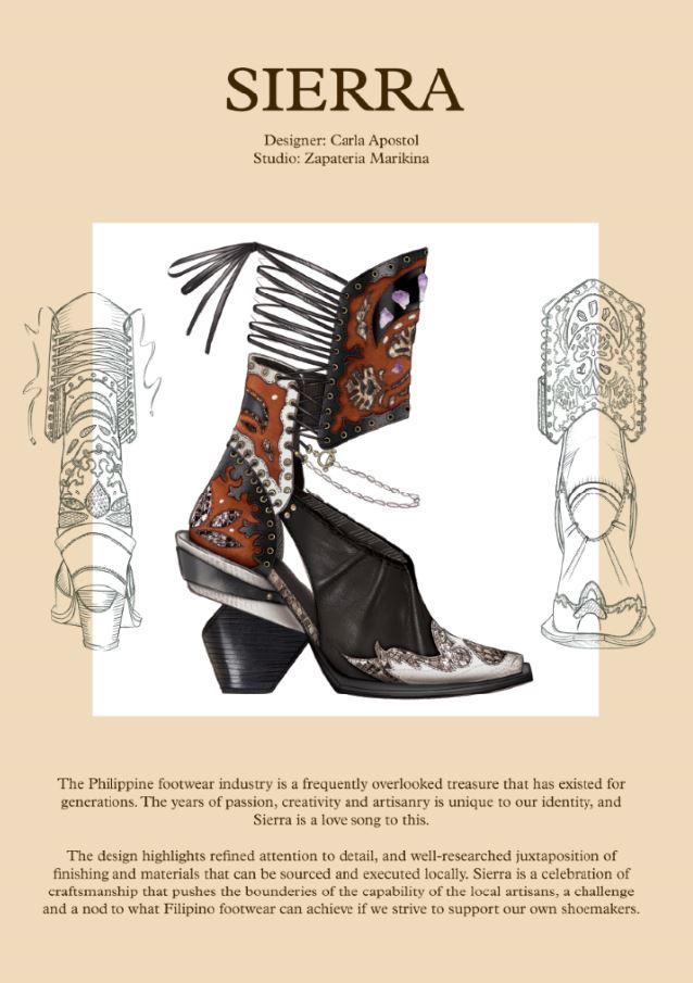 Taal Volcano Filipino footwear design