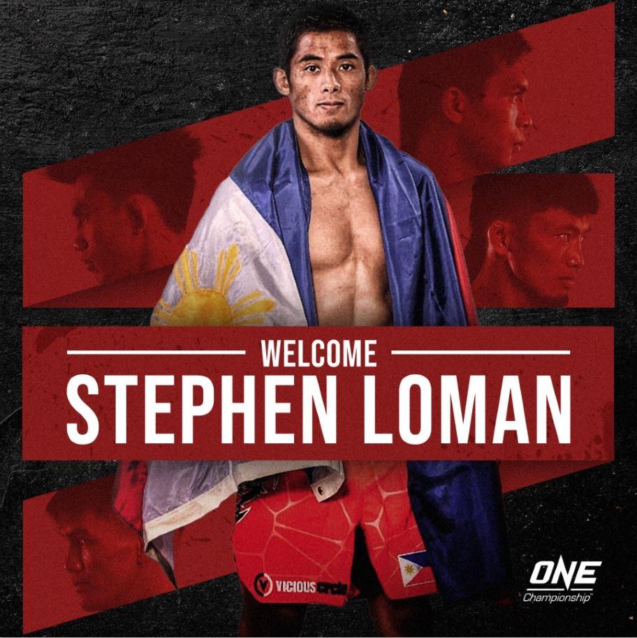 Stephen Loman ONE Championship