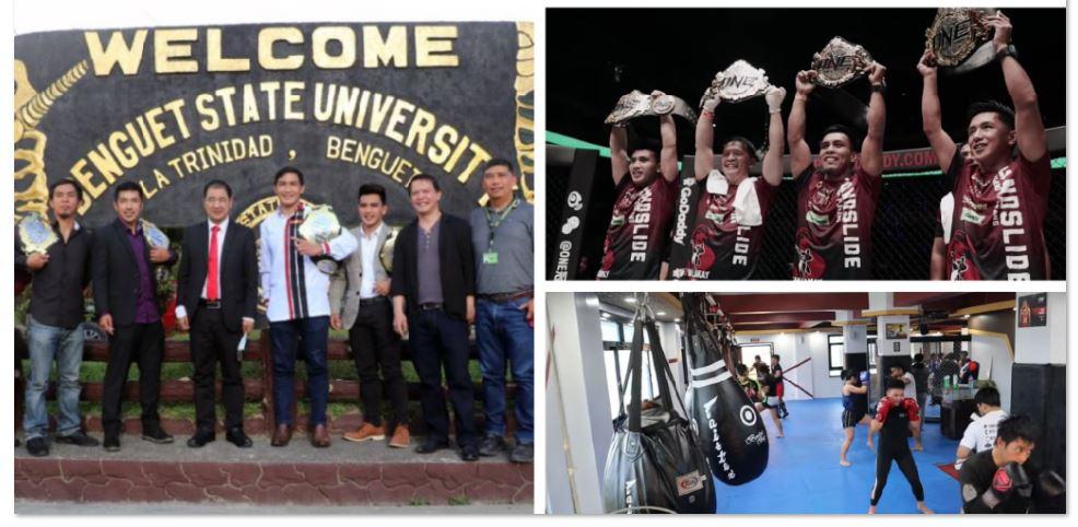Team Lakay in Benguet State University