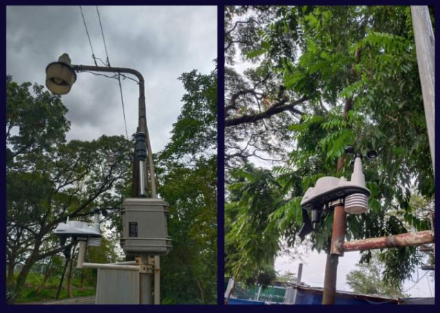UP Diliman automated weather stations