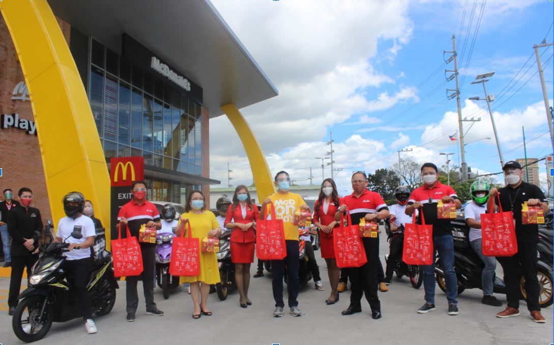 Faster deliveries of McDonald's