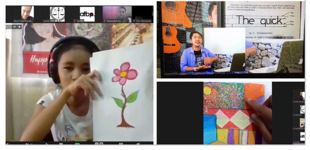 child rights advocates virtual arts workshop