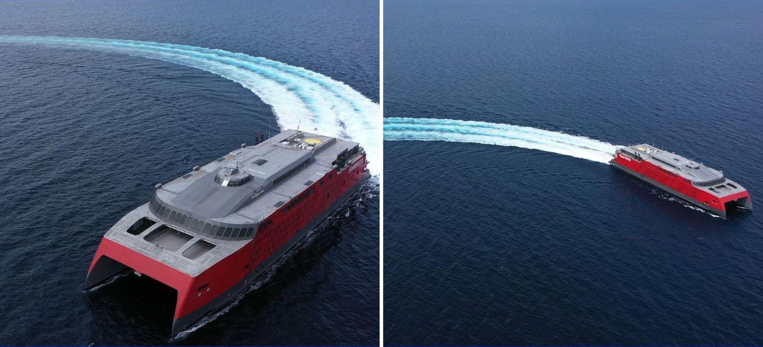 Philippine-mad high-speed ferry Fjord FSTR