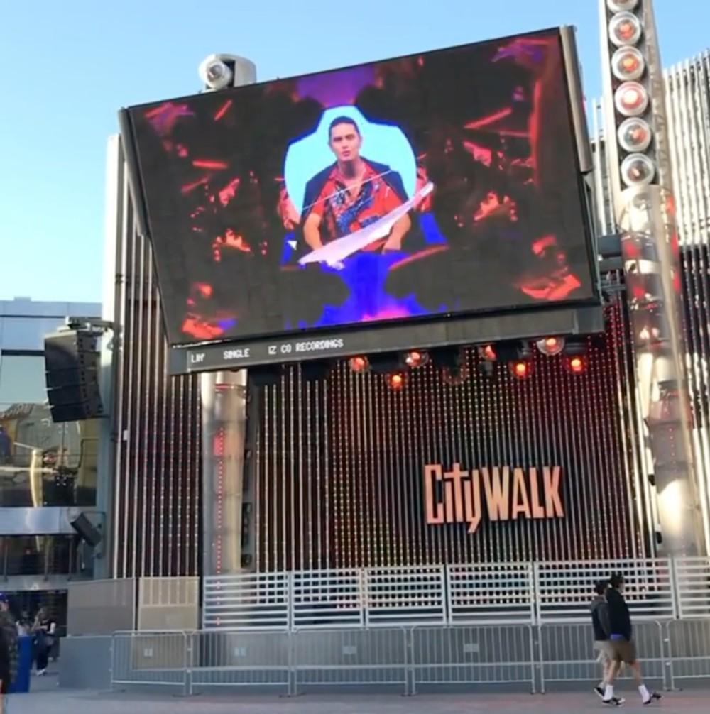 James Reid Universal Studios billboard