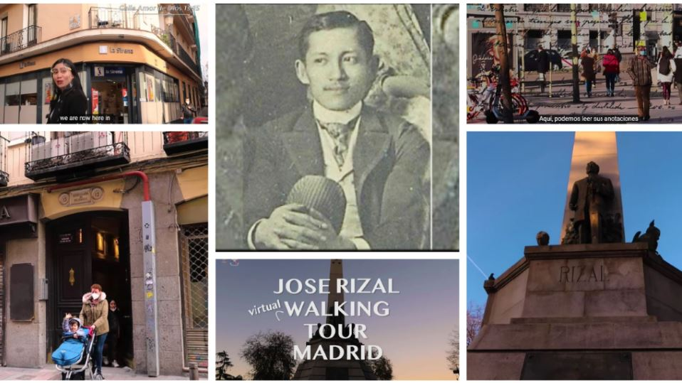 Madrid Jose Rizal Virtual Walking Tour